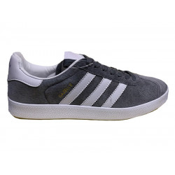 Кроссовки Adidas Gazelle Dark Grey/White