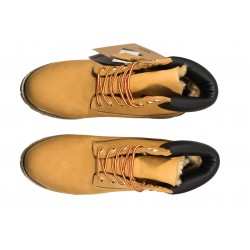 Ботинки Timberland Yellow (натур.мех)