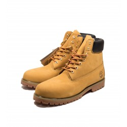 Ботинки Timberland Yellow (иск.мех)
