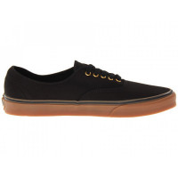 Кеды vans authentic black rubber