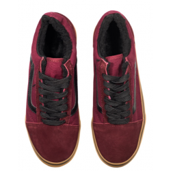 "Кеды Vans Old Skool ""Winter Edition Bordo/Gum"""