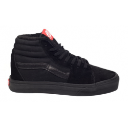 Кеды Vans SK-8 High Top All Black Winter Edition