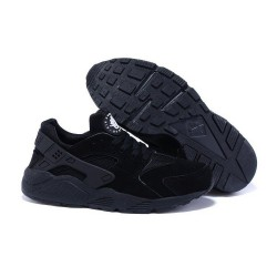 Зимние кроссовки Nike Air Huarache All Black 'Winter Edition '
